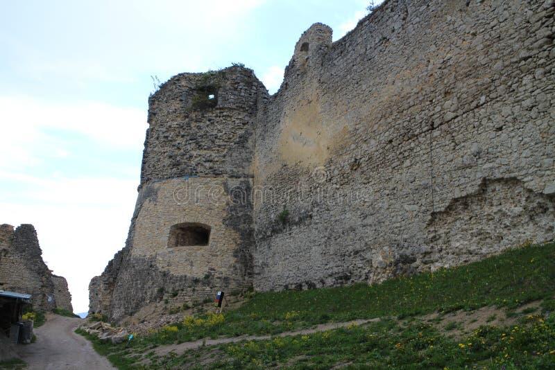 Château de Lietava, secteur d'ilina de ½ du 'de Ã…à photographie stock libre de droits