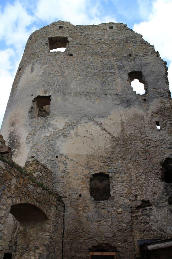 Château de Lietava, secteur de Zilina image libre de droits
