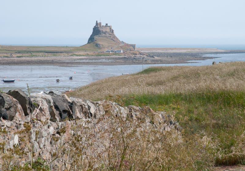 Château de Lindisfarne photographie stock libre de droits