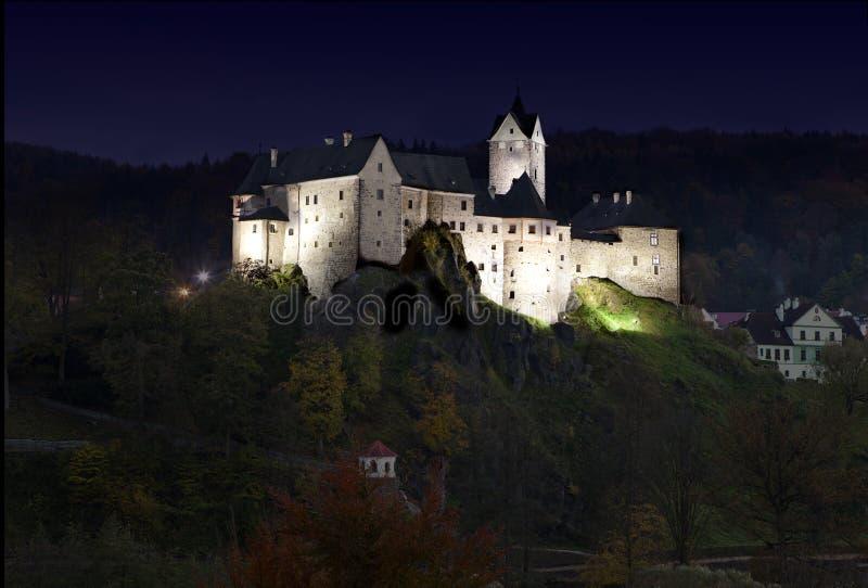 Château de Loket image stock