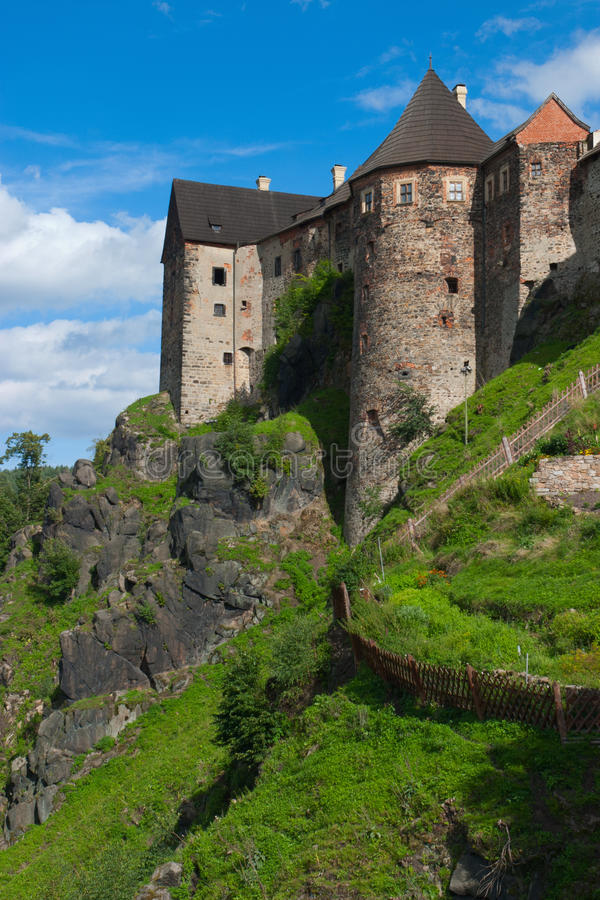 Château de Loket images libres de droits
