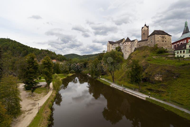 Château de Loket photographie stock