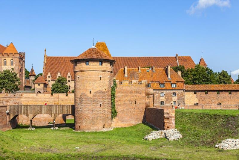 Download Château De Malbork Dans La Région De Pomerania De La Pologne Image éditorial - Image du commande, historique: 87700470