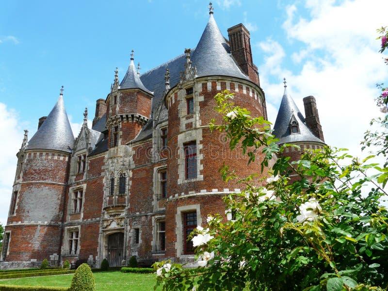 Château de Martainville dans Normandie images stock