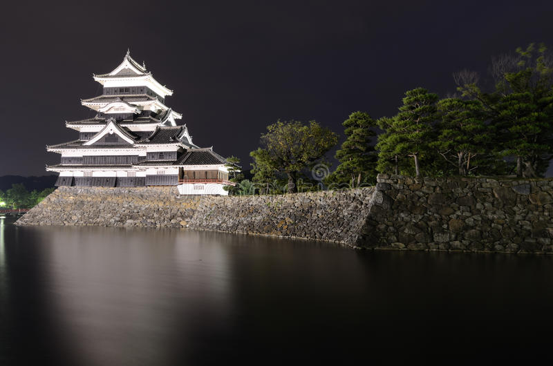 Château de Matsumoto à Matsumoto, Japon photo stock