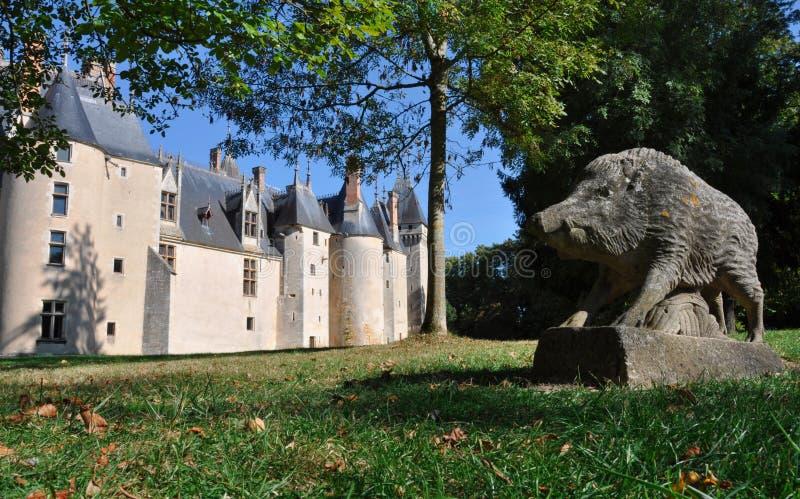 Château de Meillant photographie stock libre de droits