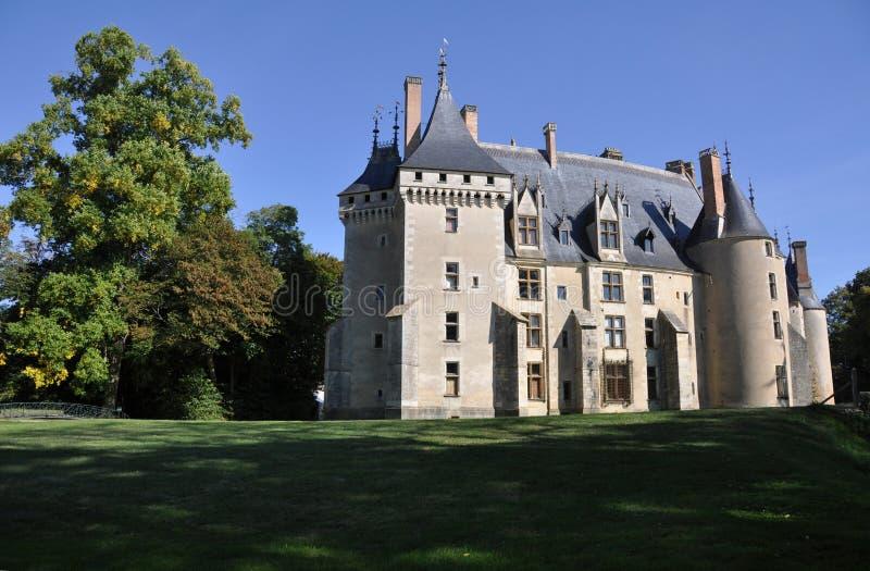 Château de Meillant photos libres de droits