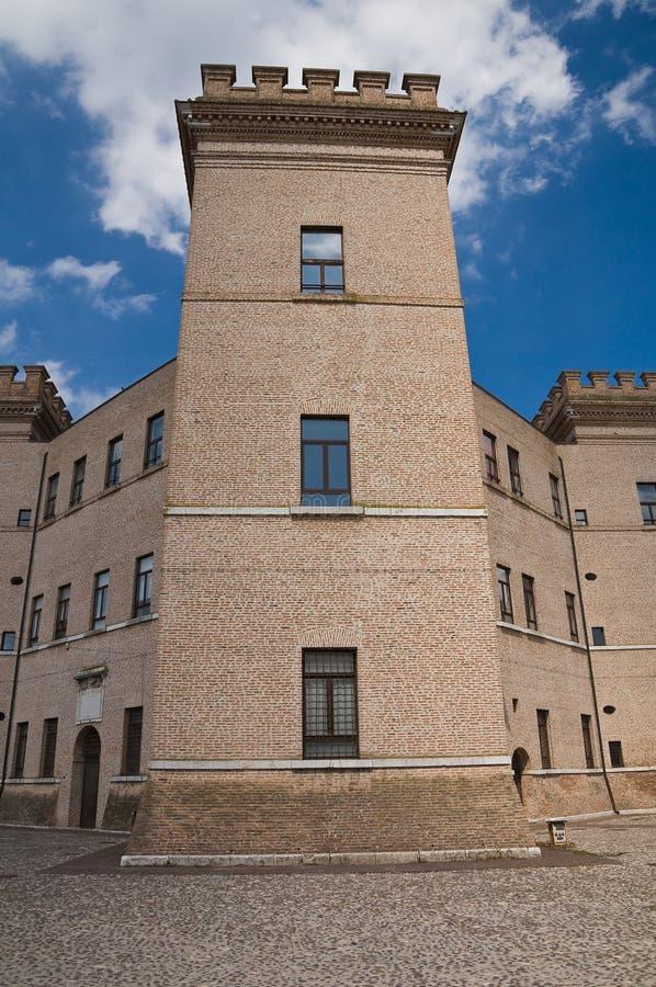 Château de Mesola. l'Emilia-romagna. l'Italie. photos libres de droits