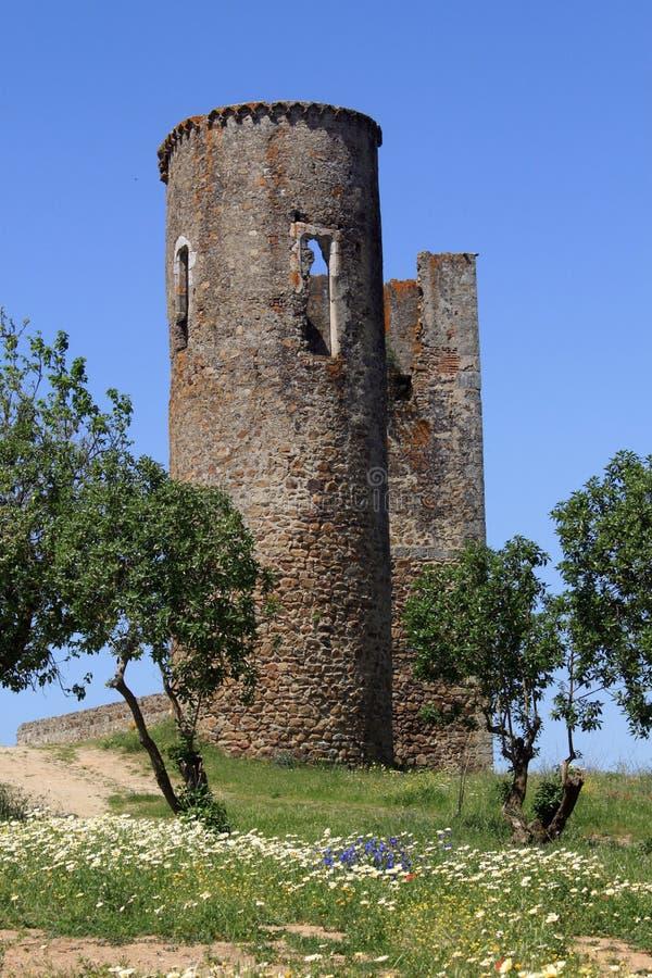 Château de Montemor-o-Novo photographie stock