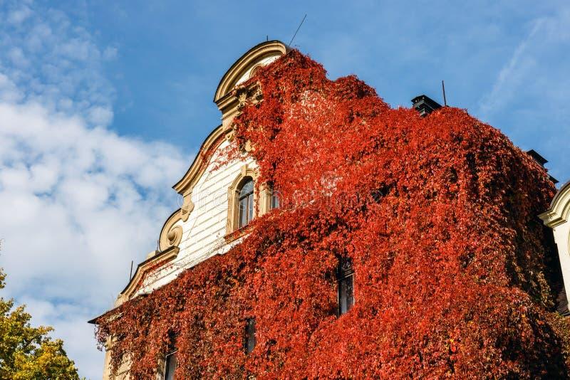 Château de Moszna, palais historique situé dans un village de Moszna, Pologne photos libres de droits