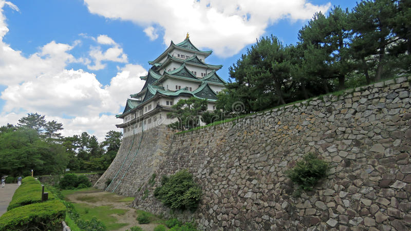 Château de Nagoya au Japon photos stock