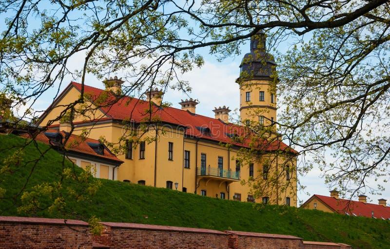 Château de Nesvizh au Belarus images stock