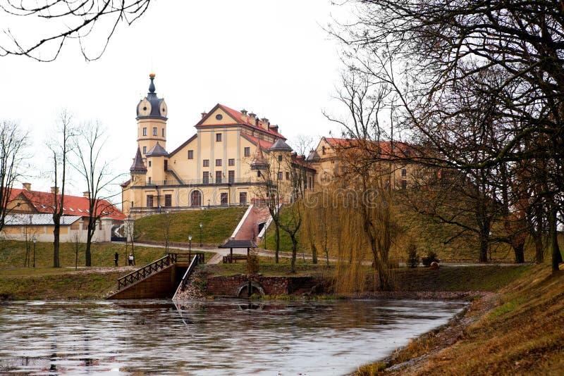 Château de Nesvizh. Le Belarus photos libres de droits