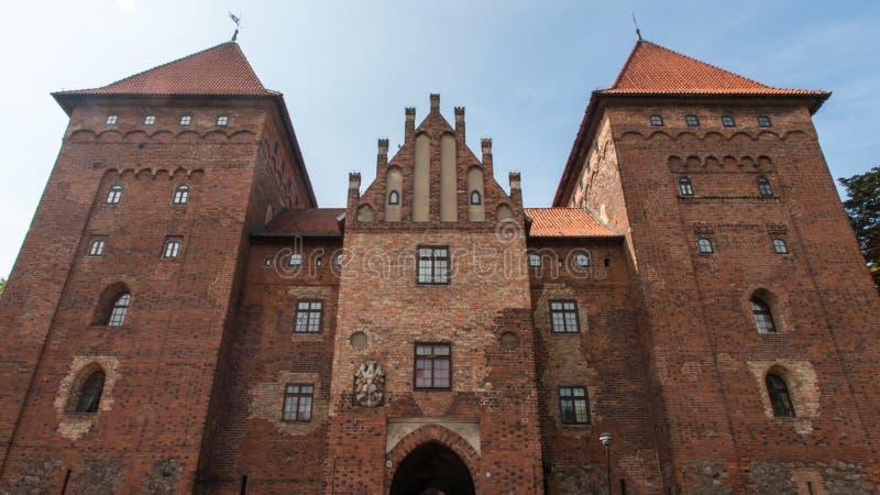 Château de Nidzica en Pologne image libre de droits