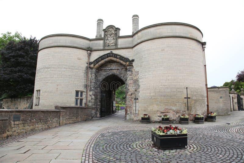Château de Nottingham images stock