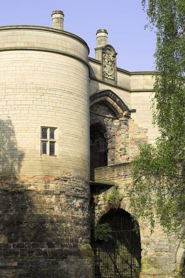 Château de Nottingham photographie stock libre de droits