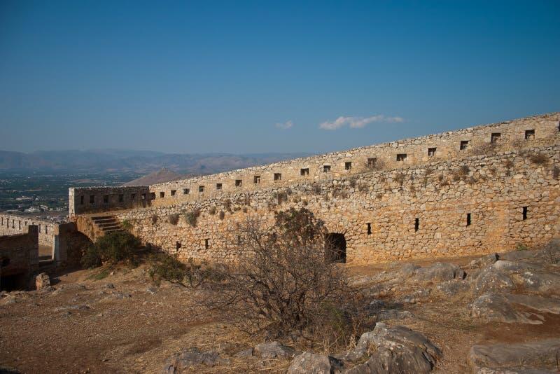 Château de Palamidi photo libre de droits