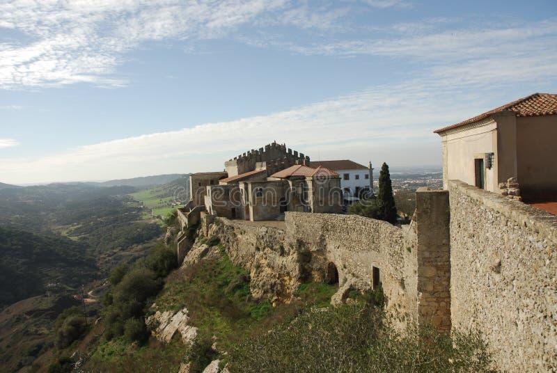 Château de Palmela photographie stock