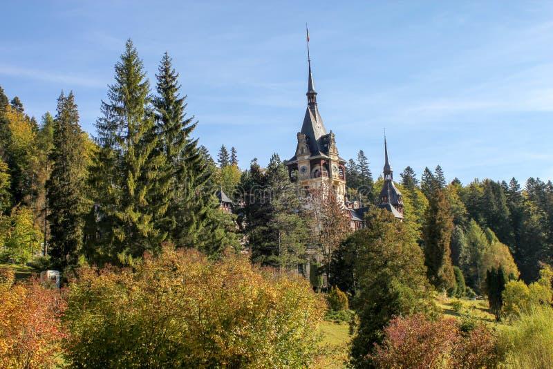Château de Peles dans Sinaia photo libre de droits