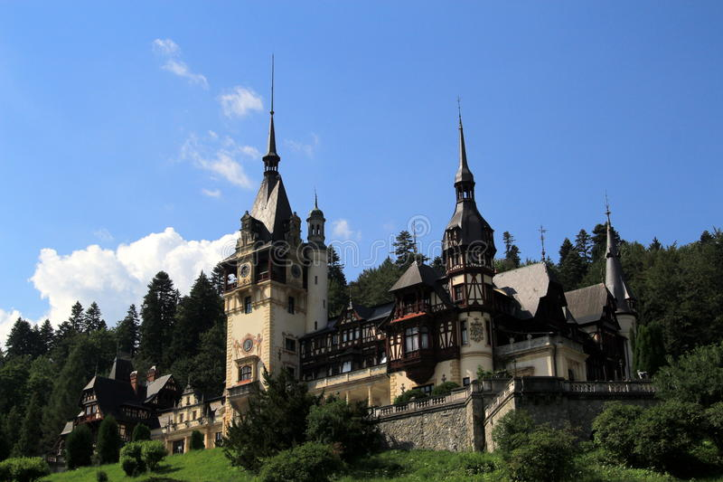 Château de Peles, Sinaia, Roumanie photographie stock
