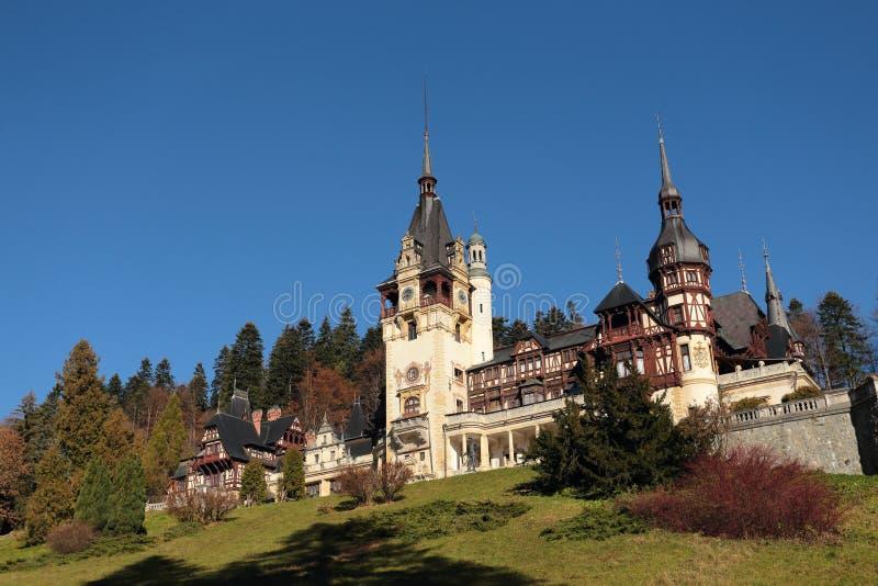 Château de Peles, ville de Sinaia, Roumanie image stock
