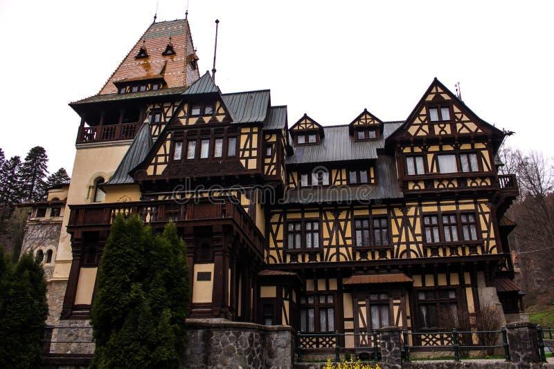 Château de PeliÅŸor photographie stock libre de droits