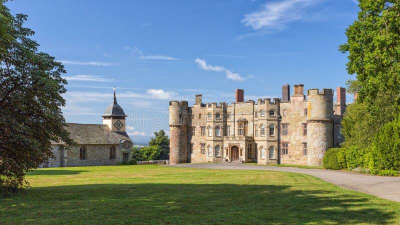 Château de petite ferme, Herefordshire, Angleterre image libre de droits