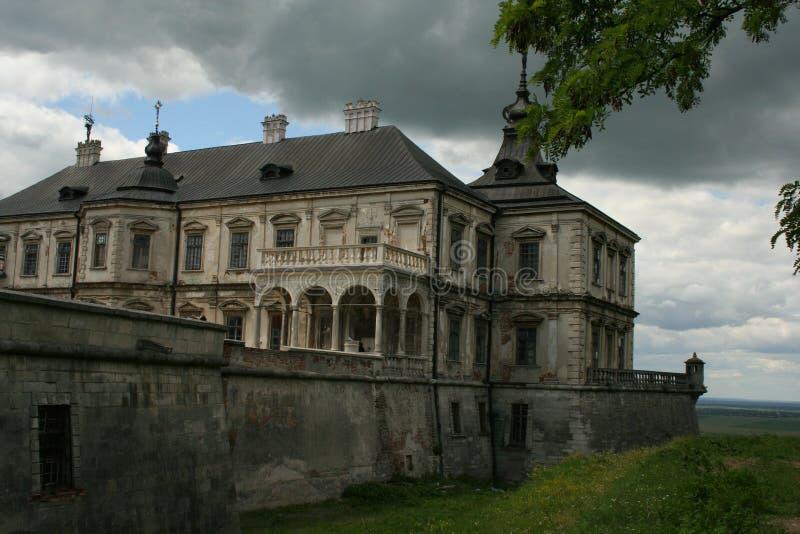Château de Pidhirtsi photo libre de droits