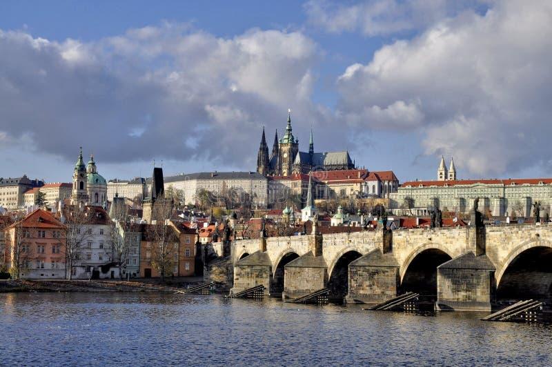 Château de Prague photo stock