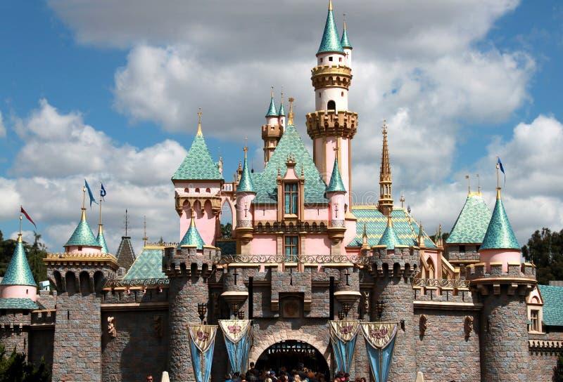 Château de princesse dans disneyland photo libre de droits