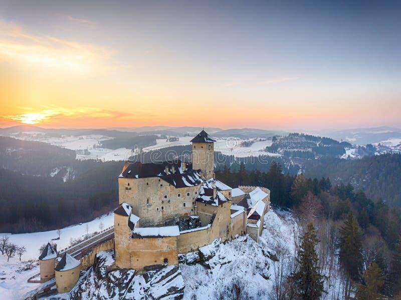 Château de Rappottenstein dans Waldviertel Basse Autriche photos libres de droits