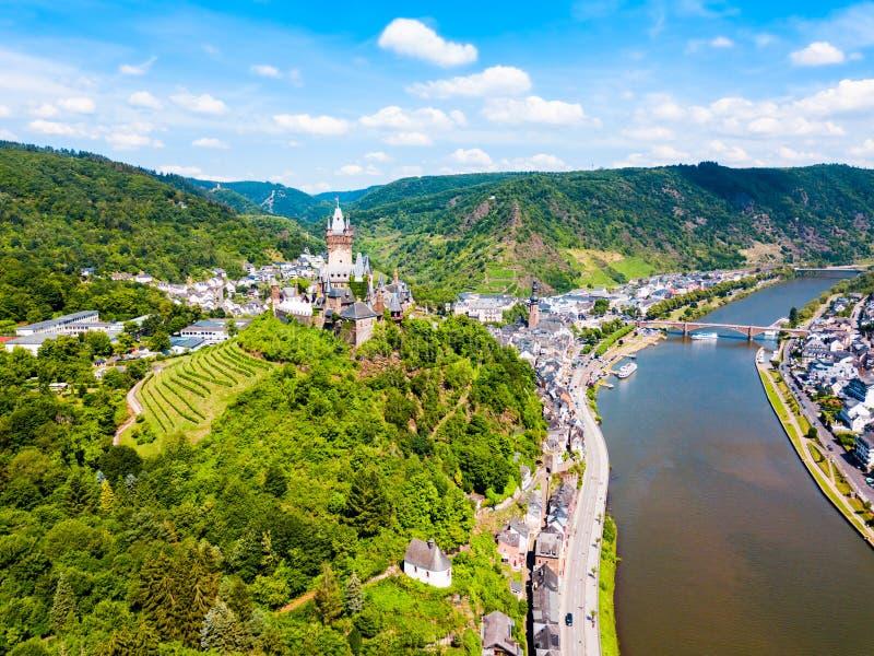 Château de Reichsburg dans Cochem, Allemagne images stock