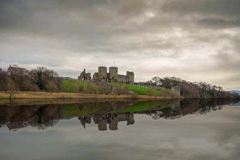Château de Rhuddlan photos libres de droits