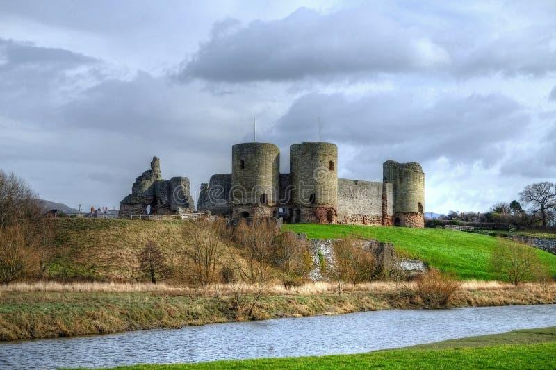 Château de Rhuddlan images stock