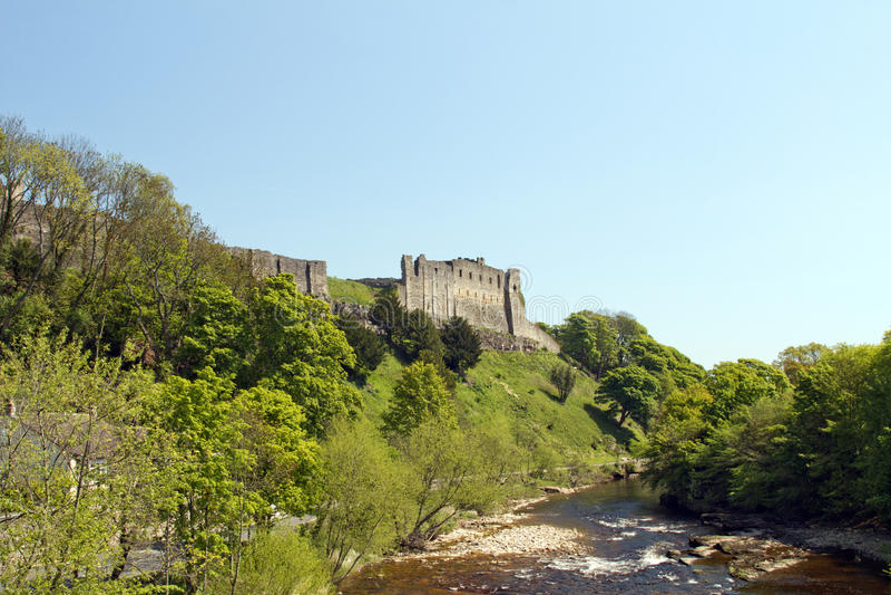 Château de Richmond du fleuve photo stock