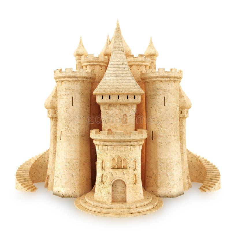 Château de sable illustration libre de droits