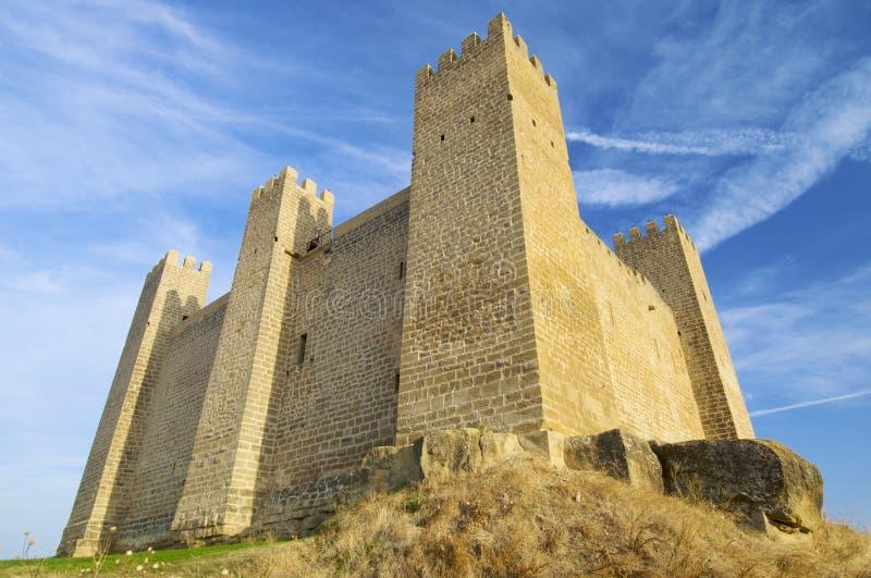 Château de Sadaba photo libre de droits