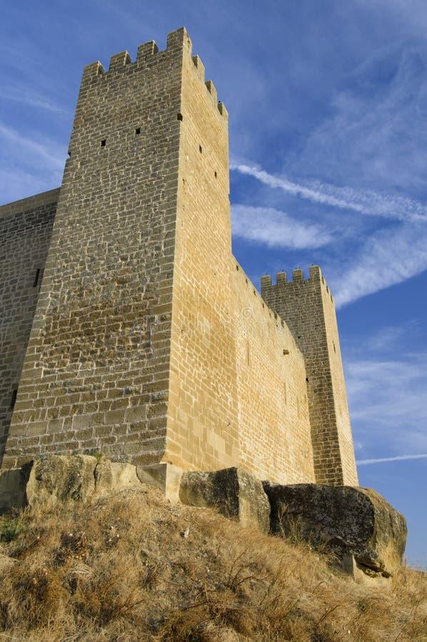 Château de Sadaba photos stock