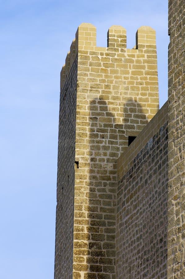Château de Sadaba image libre de droits