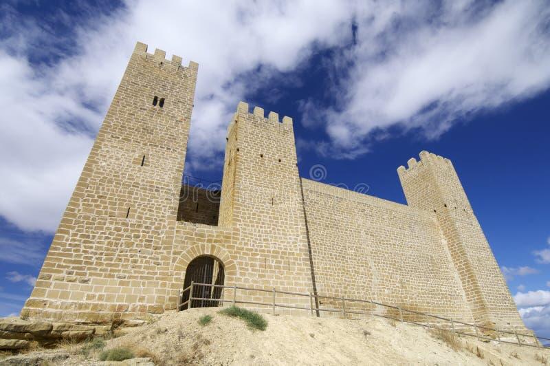 Château de Sadaba images stock