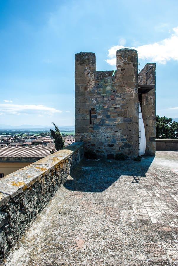 Château de Sanluri photo libre de droits