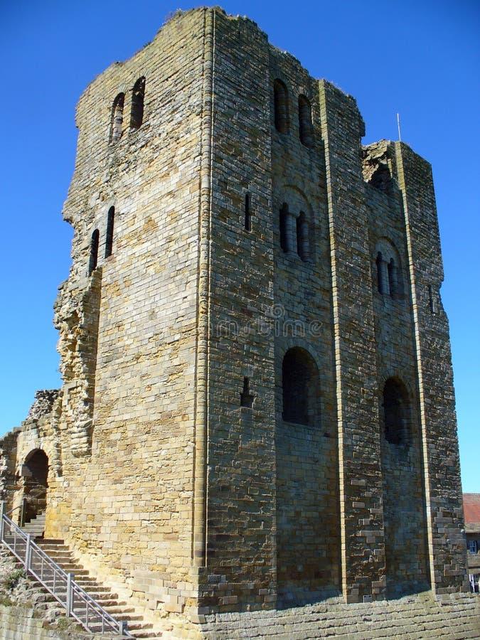 Château de Scarborough scénique photographie stock libre de droits