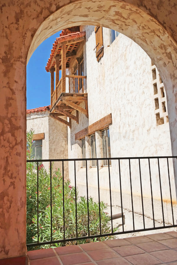 Château de Scottys - détails d'architecture images libres de droits