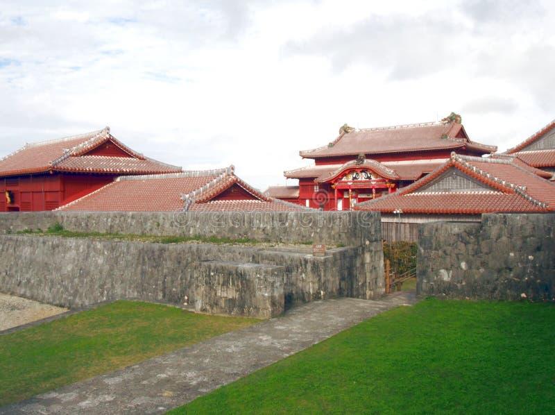 Château de Shuri image stock