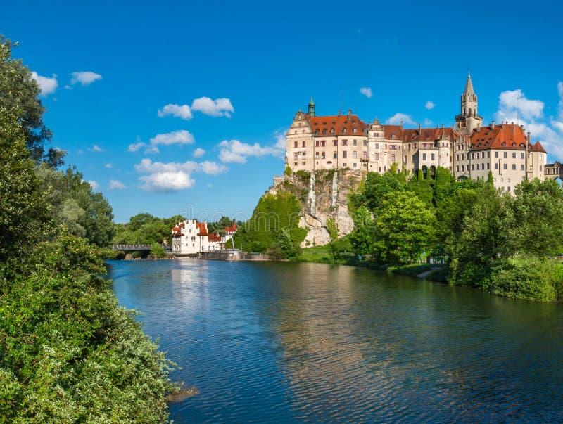 Château de Sigmaringen, Baden Wurttemberg, Allemagne photo libre de droits