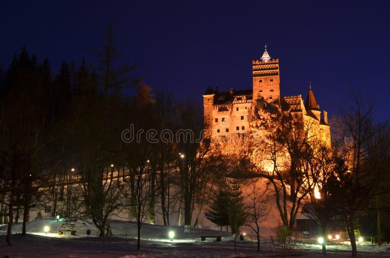 Château de son, château de Dracula, la Transylvanie, Roumanie photo libre de droits