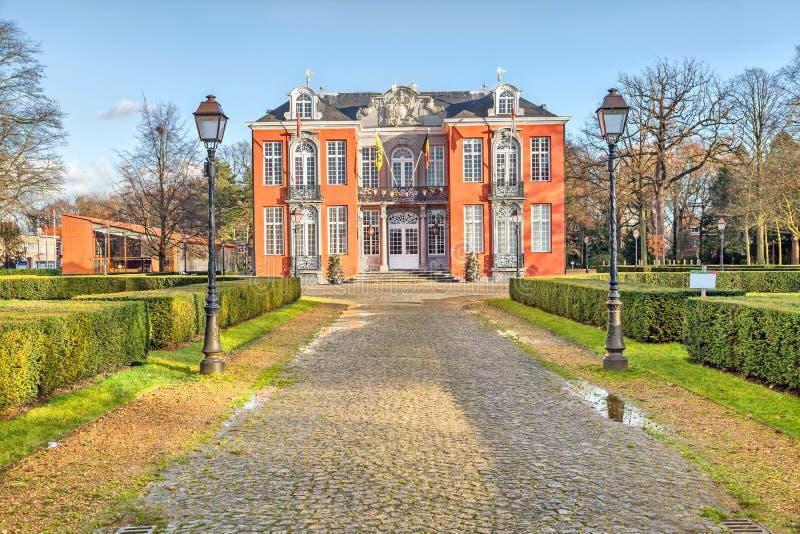 Château de Sorghvliedt dans Hoboken, Anvers photographie stock libre de droits