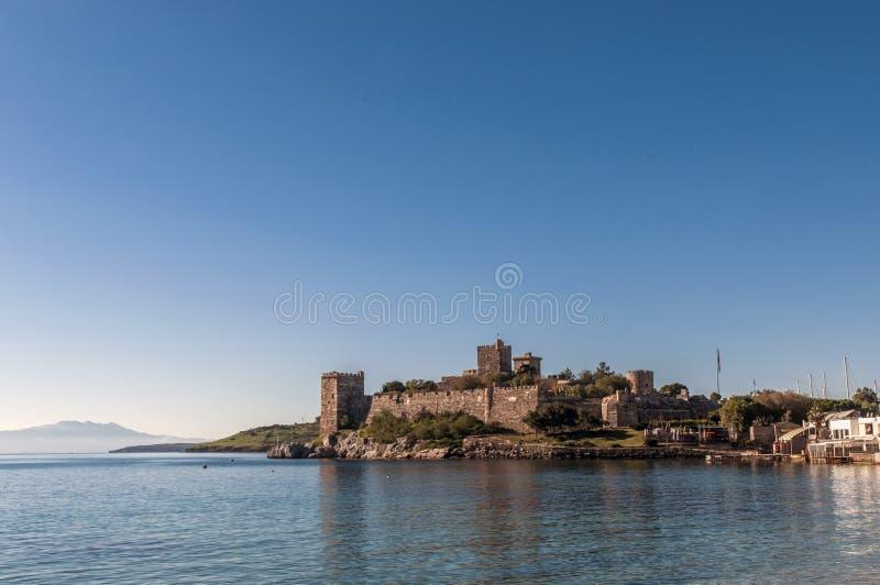 Château de St Peter Bodrum Turkey photographie stock libre de droits