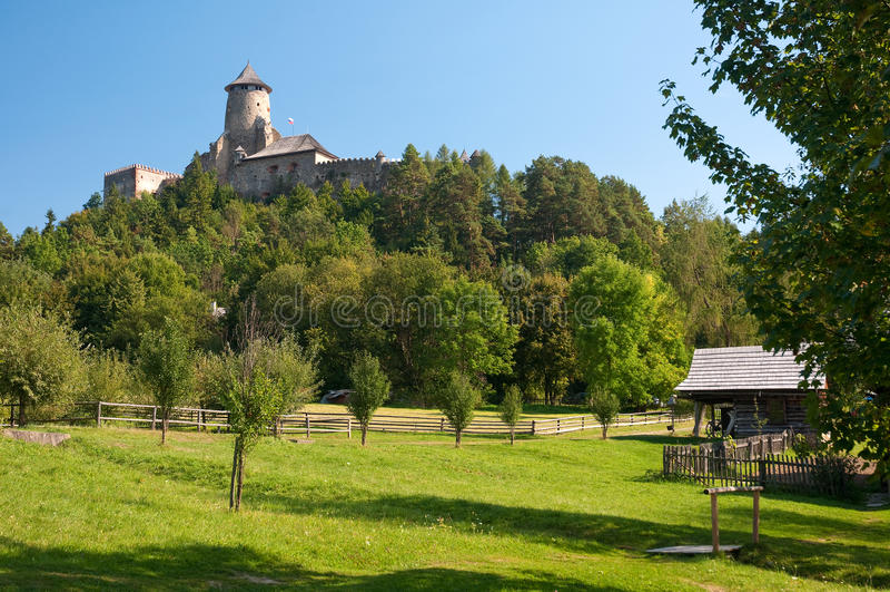 Château de Stara Lubovna images stock