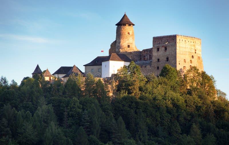 Château de Stara Lubovna point de repère en Slovaquie, l'Europe photographie stock